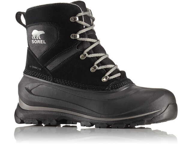 Sorel Buxton Lace Boots Herren black/quarry